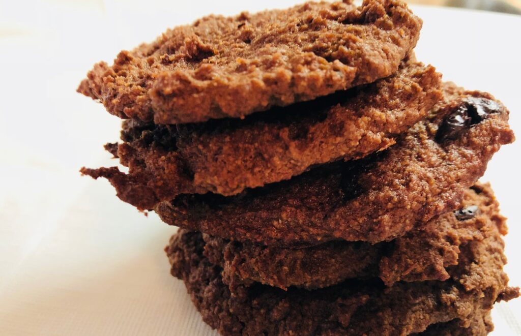 Chocolate Pumpkin Cookies - Gluten Free, Paleo
