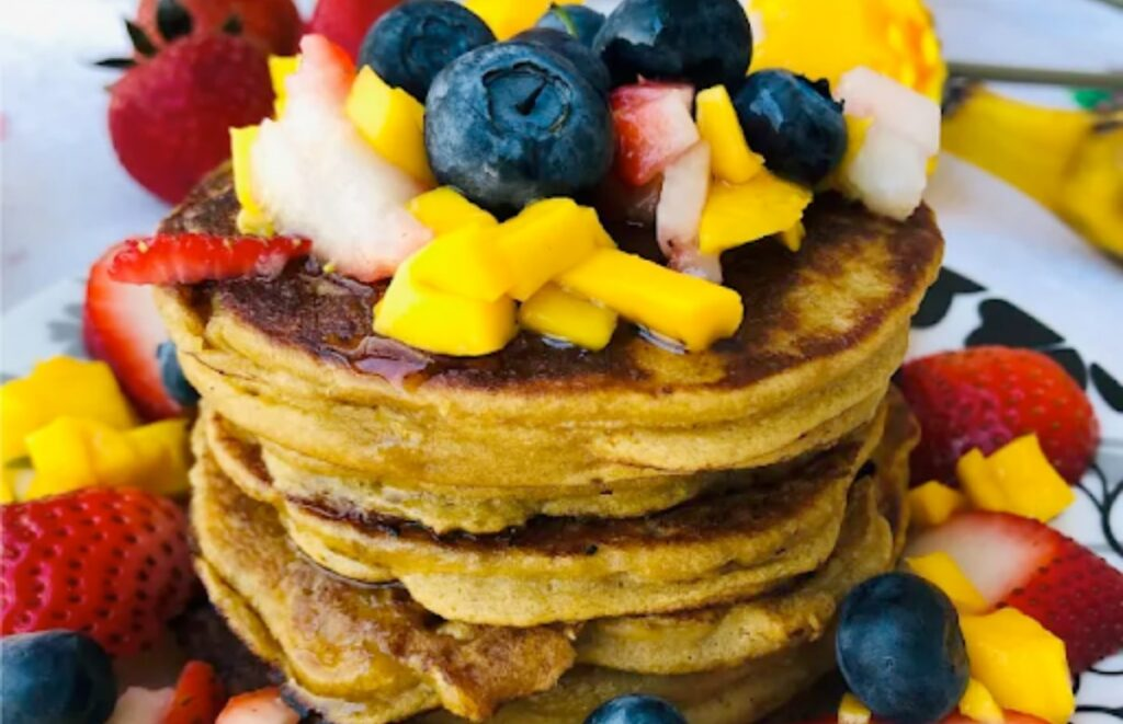 Gluten free Plantain Pancakes - Paleo, Vegan, AIP