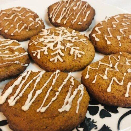 Paleo Ginger Cookies – Gluten and Dairy Free